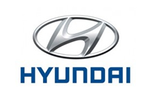 Hyundai car key logo